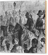 Civil War: Prisoner, 1864 Wood Print