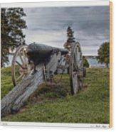 Civil War Rifle Wood Print