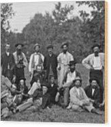 Civil War: Scouts & Guides Wood Print