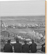 Civil War: Union Camp, 1862 Wood Print