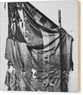 Civil War: Union Flag Wood Print