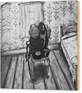 Rhode Island Civil War, Vacant Chair Wood Print