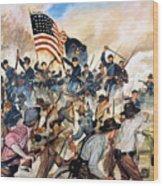 Civil War: Vicksburg, 1863 Wood Print