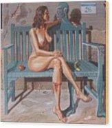 Clandestine Libido Wood Print