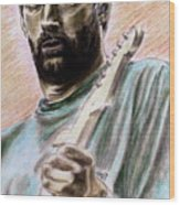 Clapton Wood Print