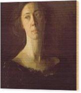 Clara Clara J Mather Wood Print