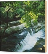 Clare Glens, Co Clare, Ireland Wood Print
