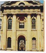 Clarendon Building, Broad Street, Oxford Wood Print