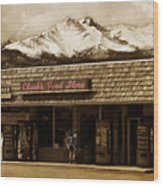 Clarks Old General Store Wood Print