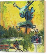 Clarksdale Authentic Madness Wood Print