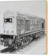 Class 20 205 Wood Print