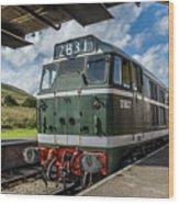 Class 31 Diesel 3 Wood Print