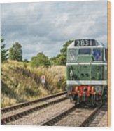 Class 31 Diesel 4 Wood Print