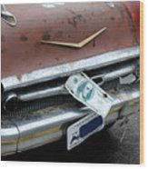Classic '57 Chevy Wood Print