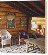 Classic Adirondack Wood Print