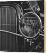 Classic American Ford Coupe Wood Print