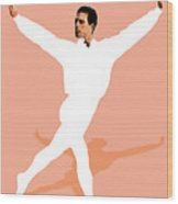 Ballet Master Dancer Wood Print