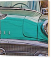 Classic Buick Wood Print by Mamie Thornbrue