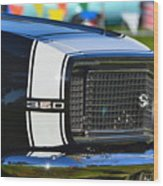 Classic Camaro Wood Print