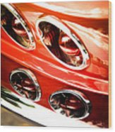 Classic Car Wood Print