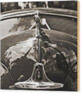 Classic Car Detail - Dodge 1948 Wood Print