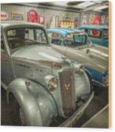 Classic Car Memorabilia Wood Print