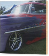 Classic Car No. 23 Wood Print