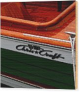 Classic Chris Craft Sea Skiff Wood Print