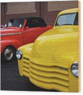 Classic Colors 5 Wood Print