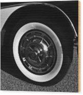 Classic Corvette Lines Wood Print