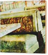 Classic Diner Wood Print