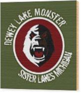 Classic Dlm Logo, Round Wood Print