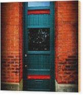 Classic Door Wood Print