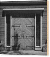 Classic Doors Wood Print