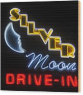 Classic Drive In Wood Print
