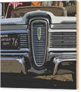 Classic Edsel Wood Print