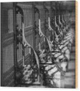 Classic Fence Wood Print