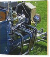 Classic Ford Hotrod Wood Print