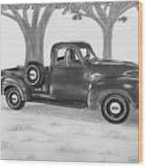 Classic Gmc Truck Wood Print