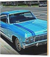 Classic Impala Wood Print