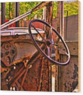 Classic Interior Wood Print