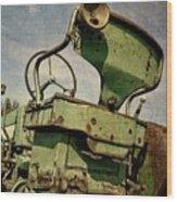 Classic John Deere 3.0 Wood Print