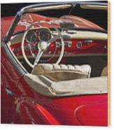 Classic Mercedes Benz 190 Sl 1960 Wood Print