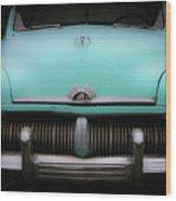 Classic Mercury Wood Print