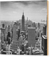 Classic New York  Wood Print