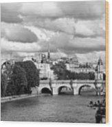 Classic Paris 5 Wood Print
