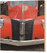 Classic Pick Up Truck Wood Print