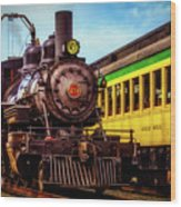 Classic Steam Train No 29 Wood Print