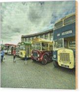 Classic Transport  Wood Print