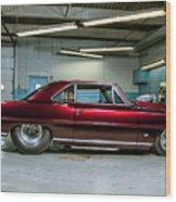 Classic Vehicle Wood Print
